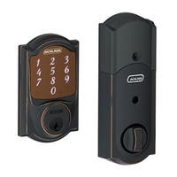 Schlage BE479-CAMRF  Manufacturer Refurbished Sense Camelot Touchscreen Deadbolt with Built-in Alarm