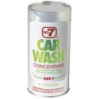 No7 16140 Car Wash, 8 Oz