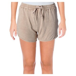 Michelle by Comune Womens Cisco Casual Shorts French Terry Heathered