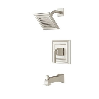 American Standard TU455.502  Town Square S Tub and Shower Trim Package with 2.5 GPM Single Function Shower Head