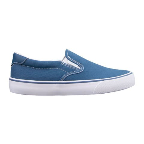 Lugz Clipper Slip On Womens Sneakers Shoes Casual - Blue