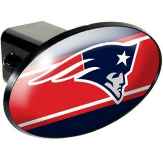 Great American Products New England Patriots Oval Trailer Hitch Cover Oval Trailer Hitch Cover