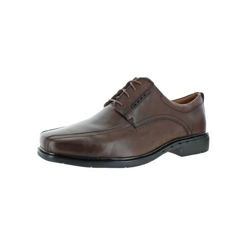 Unstructured by Clarks Mens UN.KENNETH Oxfords Leather Casual