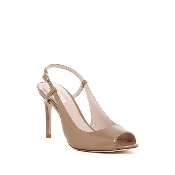 Cole Haan NEW Beige Bethany Shoes 10M Slingbacks Leather Heels