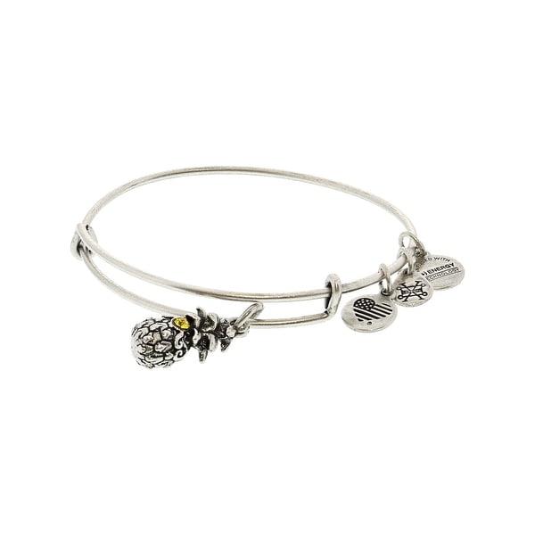 Alex And Ani Womens Path Of Symbols Bangle Bracelet 9 Silver