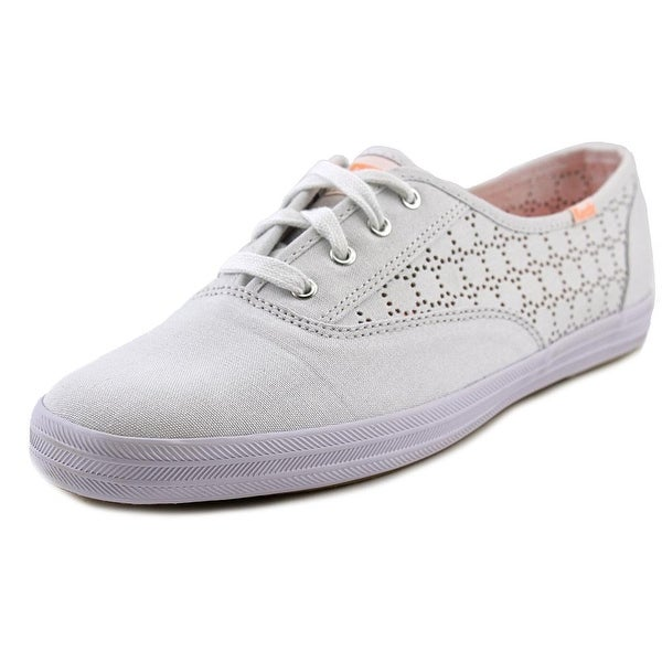 Keds CH Perf Round Toe Canvas Sneakers