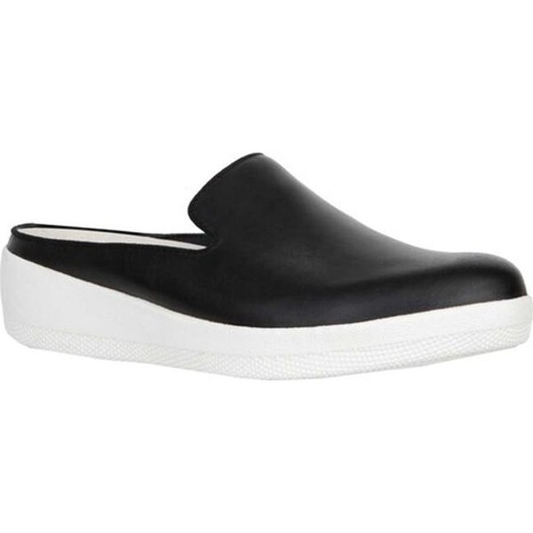 f4842f065259 Shop FitFlop Women s Superskate Mule Black Leather - Free Shipping ...