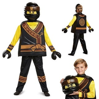 Boys Ninjago Cole Movie Deluxe Halloween Costume