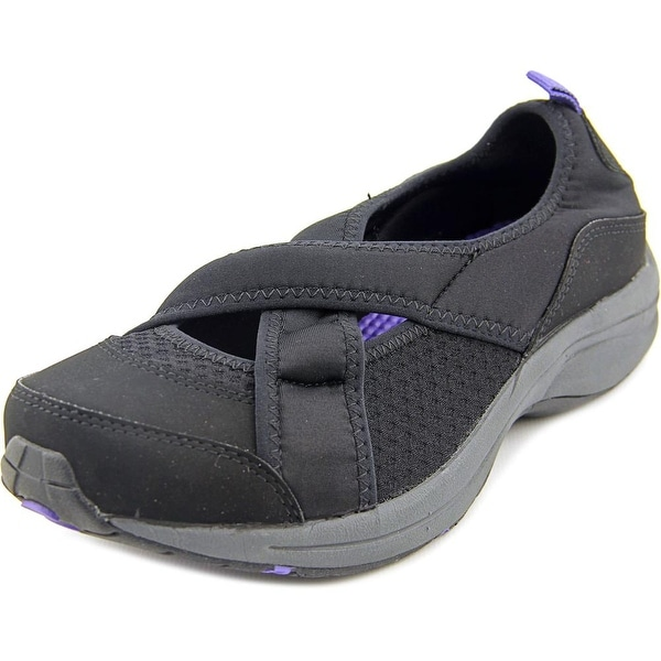 Easy Spirit Wayanna Women W Round Toe Canvas Mary Janes