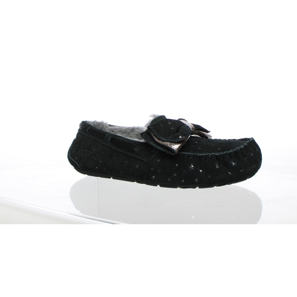 349e39b562b Shop UGG Womens Dakota Black Moccasin Slippers Size 8 - Free ...
