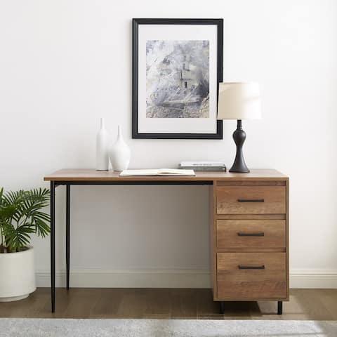 Carbon Loft 52-inch 3-Drawer Desk