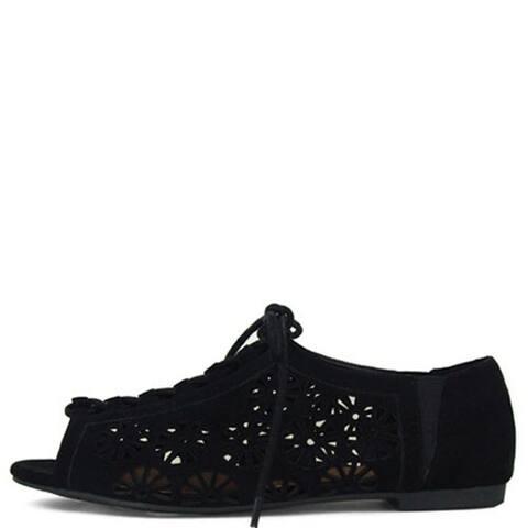 Qupid Women's Palmer-118 Flats Shoes