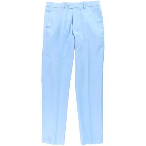 OppoSuits Mens Neck Tie Dress Slacks, Blue, 40W x 34L - 40W x 34L