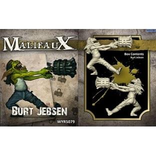 Wyrd Miniatures Malifaux Outcast Burt Jebsen Model Kit