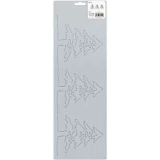 "Quilt Stencils By Julie Mullin-5"" Pine Trees"