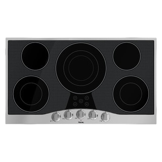 Viking RVEC3365B 36 Inch Wide Built-In Electric Cooktop with QuickCook Surface Elements