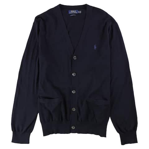 Ralph Lauren Mens Regular-Fit Cardigan Sweater