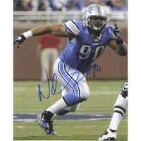 Signed Suh Ndamukong Detroit Lions 8x10 Photo autographed