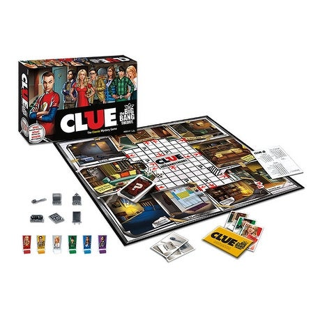The Big Bang Theory Collectors Edition Clue Board Game - multi