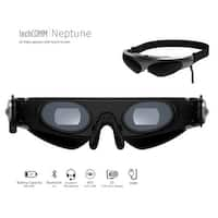 TechComm Neptune 2D Video / FPV Glasses for Any Device with AV Output with Detachable Stereo Earphones
