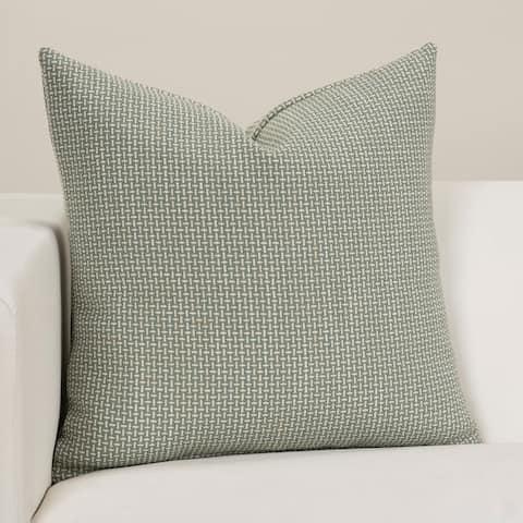 Crisscross Mineral Designer Throw Pillow
