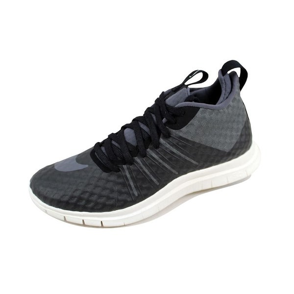 Nike Men's Free Hypervenom 2 FS Black/Dark Grey-Ivory 805890-001