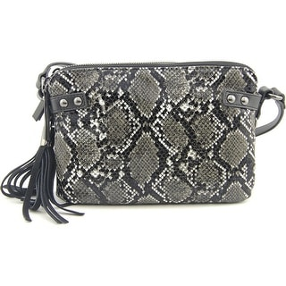 French Connection Cruz Crossbody Women Synthetic Black Messenger