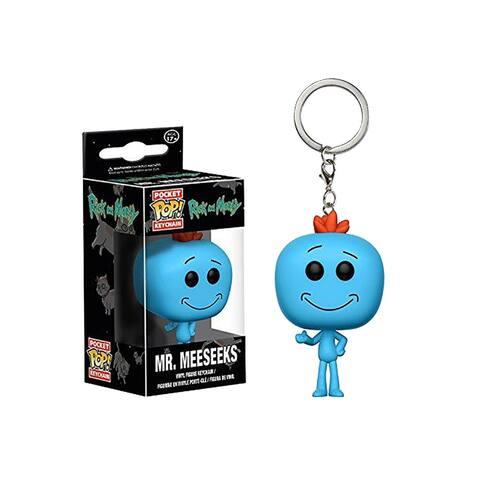 Rick & Morty Funko Pop Keychain Mr. Meeseeks - Multi
