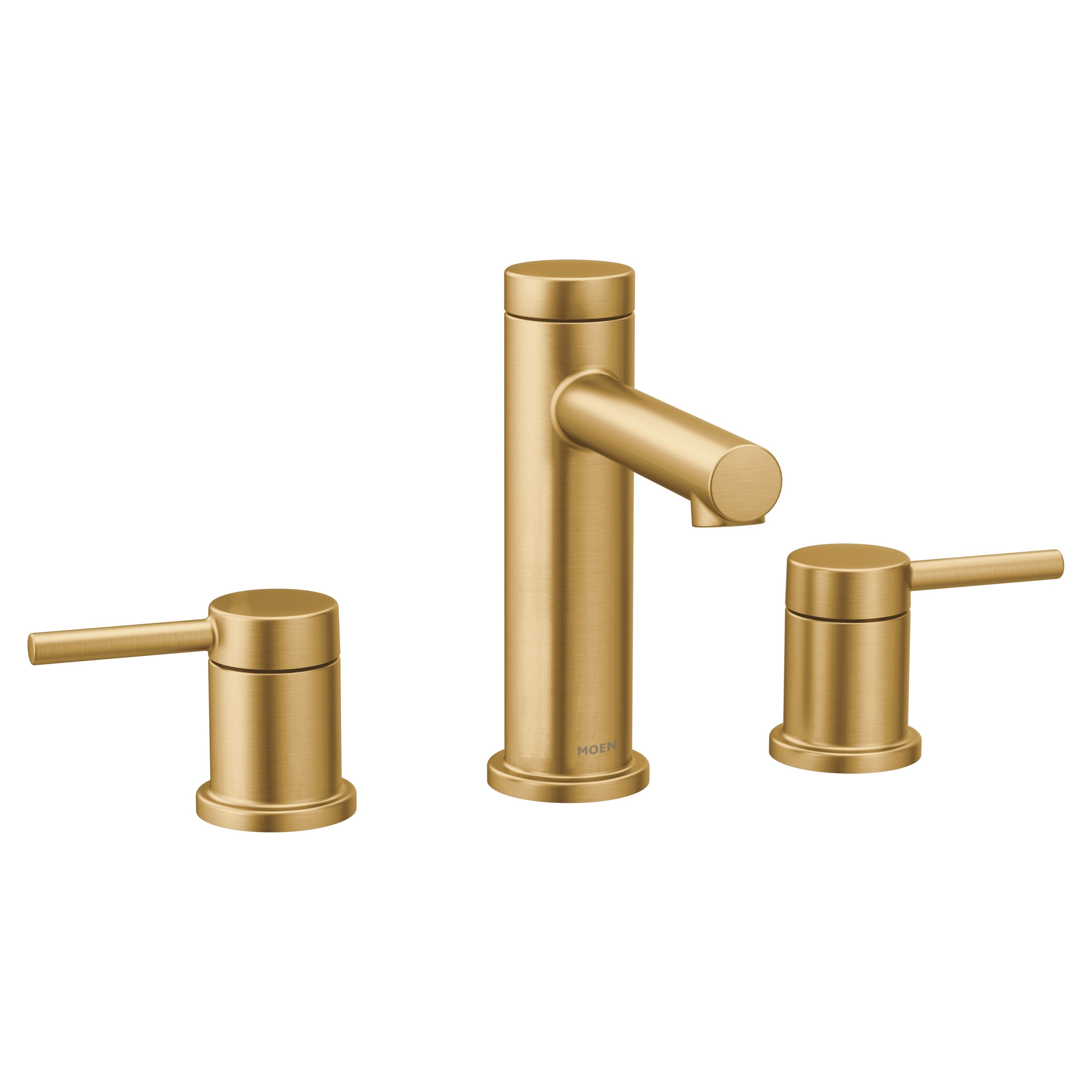 Shop Black Friday Deals On Moen Two Handle Bathroom Faucet Brushed Gold T6193bg Overstock 27615827