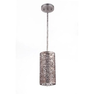 "Bromi Design B8105 Royal Single Light 5-1/8"" Wide Mini Pendant with Metal Shade"