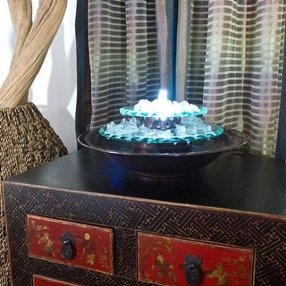 Shop Moonlight Tabletop Fountain With Dark Copper Finish