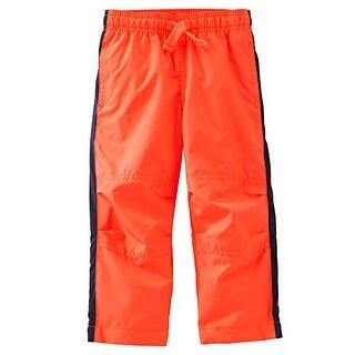 OshKosh B'gosh Baby Boys' Mesh-Lined MVP Pant - Orange - 12 Months