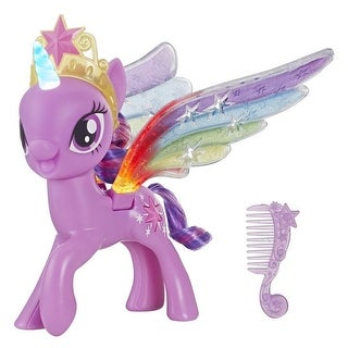 Link to My Little Pony Rainbow Wings Twilight Sparkle Pony Figure With Lights Similar Items in Musical Instruments