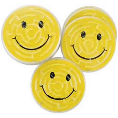 Smile Maze Puzzles - Party Favors 12/Pkg