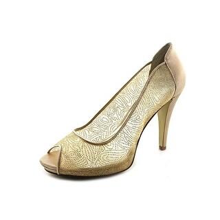 Style & Co Naveah Peep-Toe Synthetic Heels