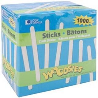 "Natural 4.5"" 1;000/Pkg - Woodsies Craft Sticks"