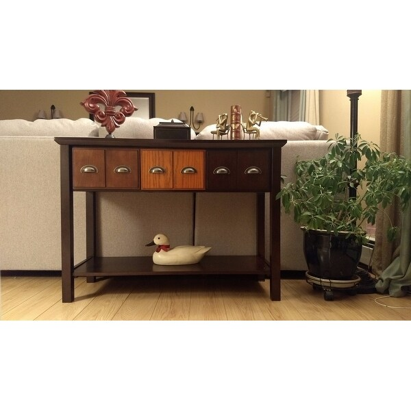 Exceptional Shop Harper Blvd Heloise Apothecary Console/ Sofa Table   Free Shipping  Today   Overstock.com   10654418