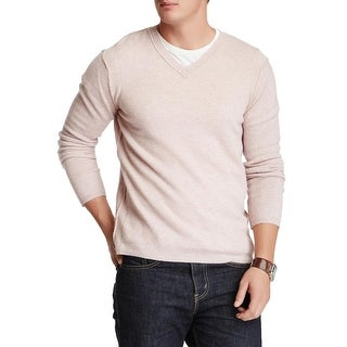 Inhabit Mens Cashmere Crewneck Pullover Sweater Medium M Pale Pink