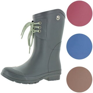 Link to Nomad Women's Kelly B Matte Rubber Short Wellie Rain Boots Similar Items in Women's Shoes