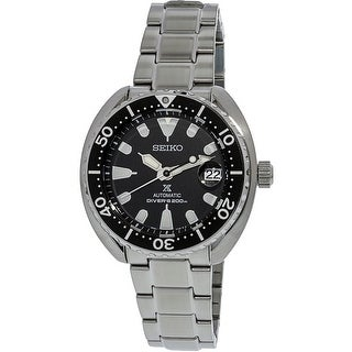 Seiko Men's SRPC35K Silver Stainless-Steel Automatic Fashion Watch