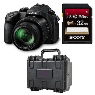 Panasonic LUMIX DMC-FZ1000 Camera, 21.1 MP, 1-inch Sensor, 4K Video Bundle