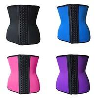 0e936f3ff709b Women Latex Rubber Waist Trainer Cincher Underbust Corset Body Shaper  Shapewear