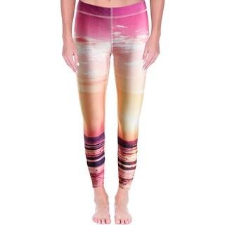 Zara Terez Womens New York Athletic Tights Polyester Stretch