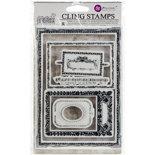 "Iron Orchid Designs Cling Stamps 5""X7""-Mini Frames"