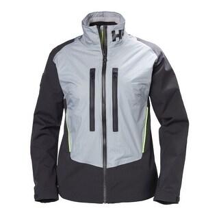 Helly Hansen Womens Aegir H2Flow Jacket - Silver Grey