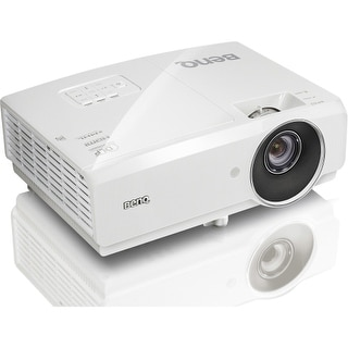 BenQ MW727 BenQ MW727 3D Ready DLP Projector - 720p - HDTV - 16:10 - Front, Ceiling - UHP - 280 W - 3000 Hour - 4000 Hour - 1280