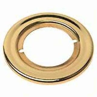 Kwikset 293 3CP Trim Rosette Kit, Bright Brass
