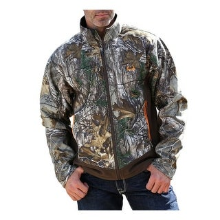 Cinch Western Jacket Mens Outdoor Max 5 Fleece Camo Brown MMJ5012001