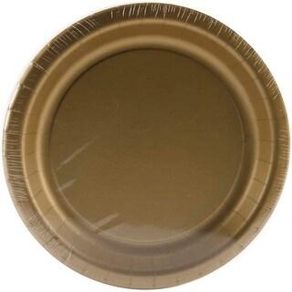 "Glittering Gold - Luncheon Plates 7"" 24/Pkg"