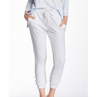 Standard James Perse NEW White Women's Size 4 Drawstring Pants